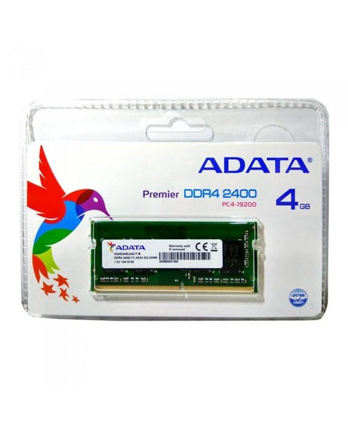 ADATA RAM 4GB DDR4 LAPTOP 2400 MHz