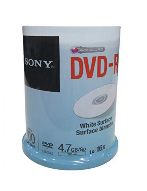 SONY DVD-R WHITE PACK OF 100