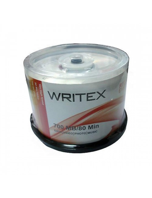 WRITEX CD-R PACK OF 50