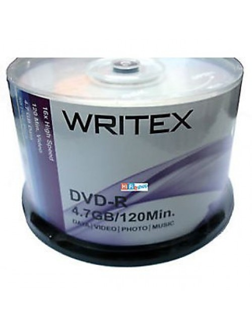 WRITEX DVD-R PACK OF 50