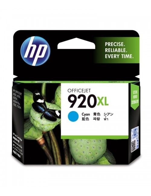 HP INK CARTRIDGE 920XL CYAN (ORIGINAL)