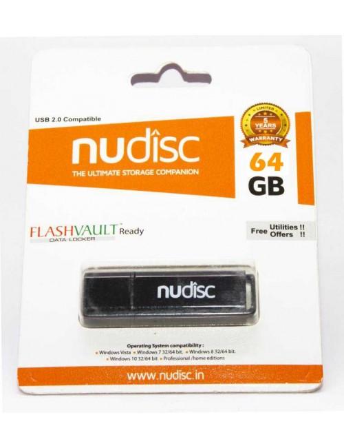 NUDISC PENDRIVE 64 GB 2.0