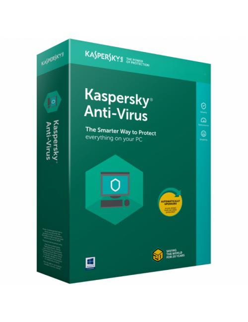 KASPERSKY ANTIVIRUS 3 USER / 1YEAR