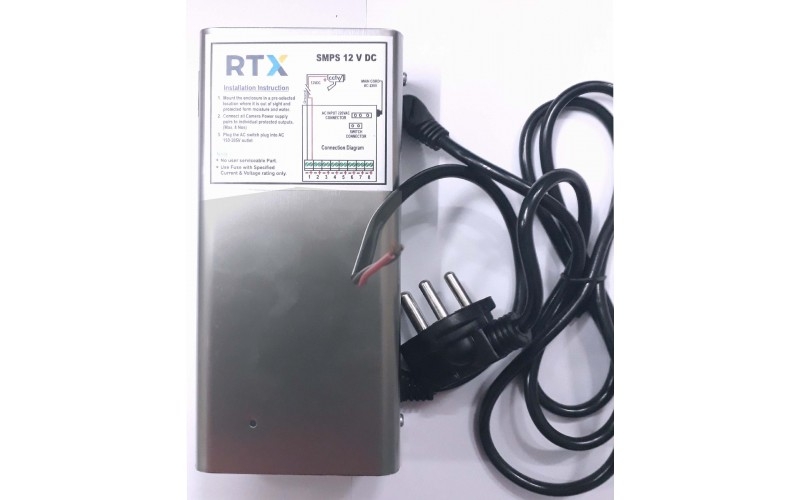 POWER SUPPLY RTX 8 CHANNEL (SLIM)