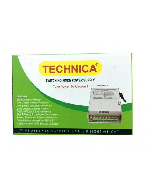 POWER SUPPLY TECHNICA 4 CHANNEL (MULTY)