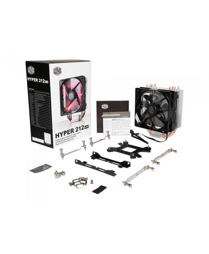 COOLER MASTER AIR CPU FAN HYPER 212 LED
