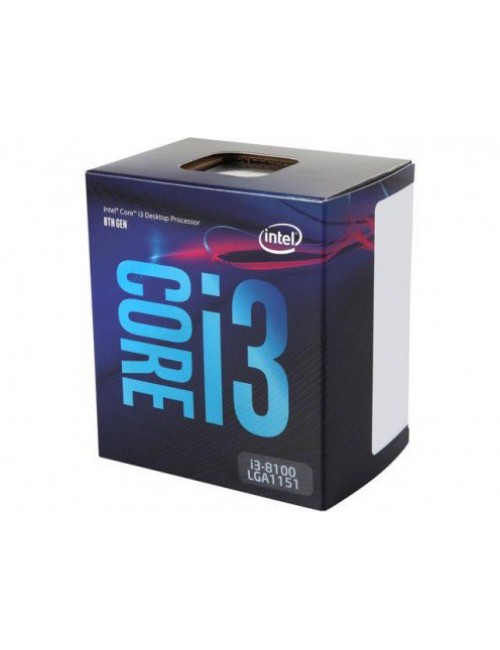 INTEL 8TH GEN i3-8100