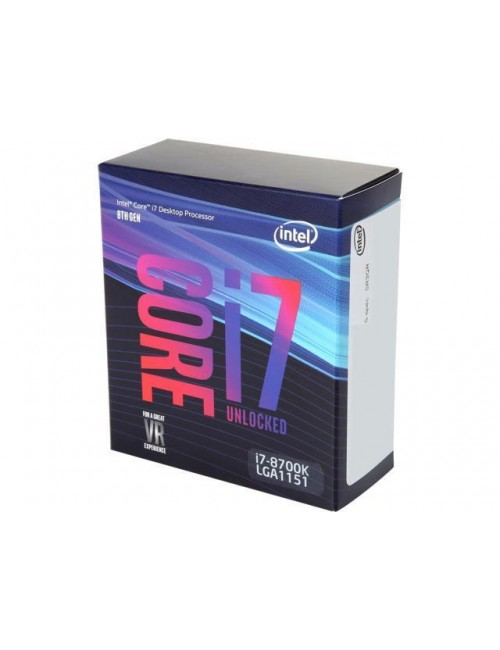 INTEL 8TH GEN i7-8700K