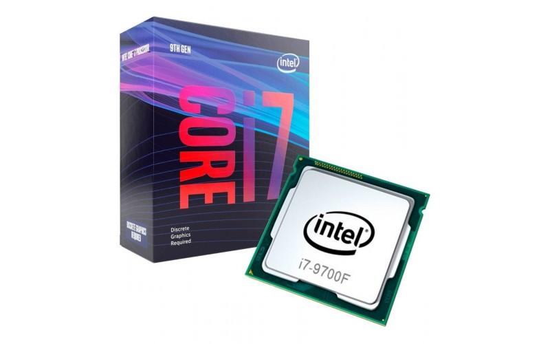 INTEL CPU 9TH GEN i7-9700F