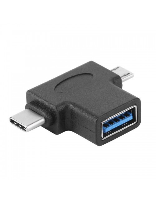 MULTYBYTE USB C TYPE TO MICRO + USB OTG