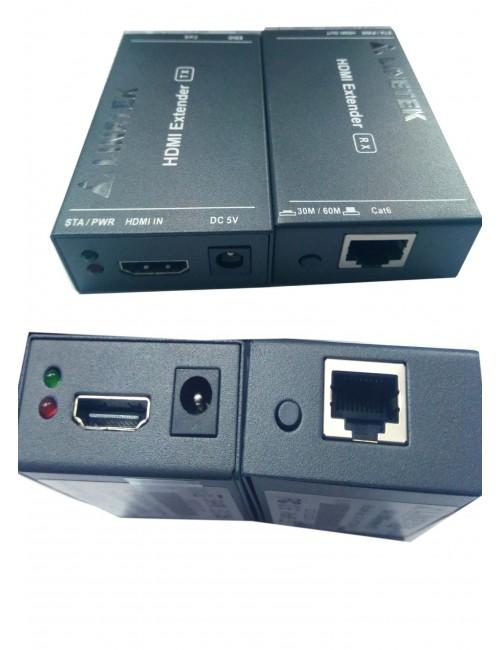 LINETEK HDMI FEMALE EXTENDER WITH LAN FEMALE