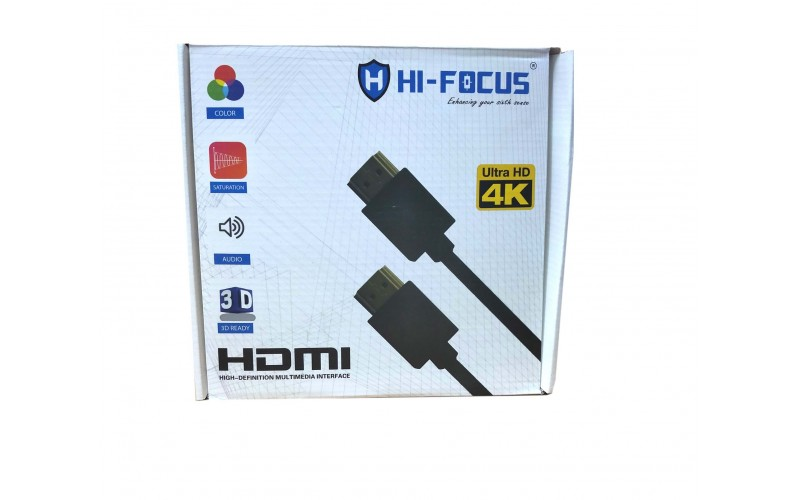HI-FOCUS HDMI MALE TO HDMI MALE 15M