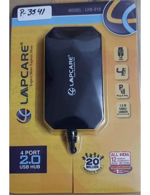 LAPCARE 4 PORT USB HUB 2.0