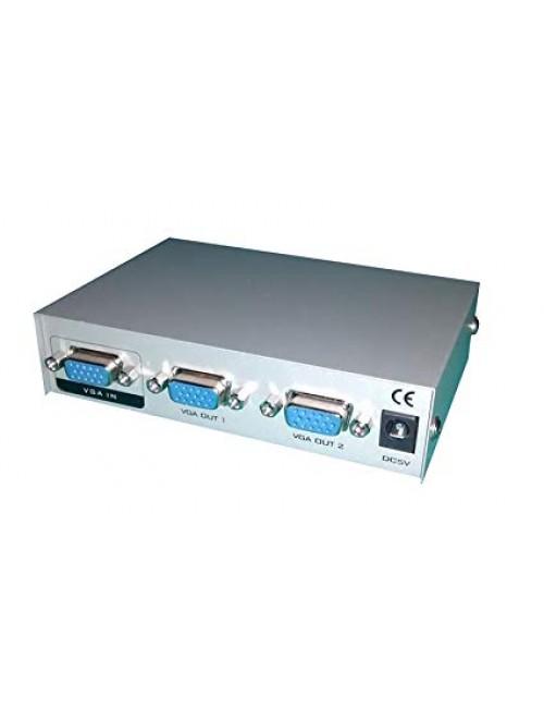 STACKFINE 2 PORT VGA SPLITTER 150 MHZ (727)