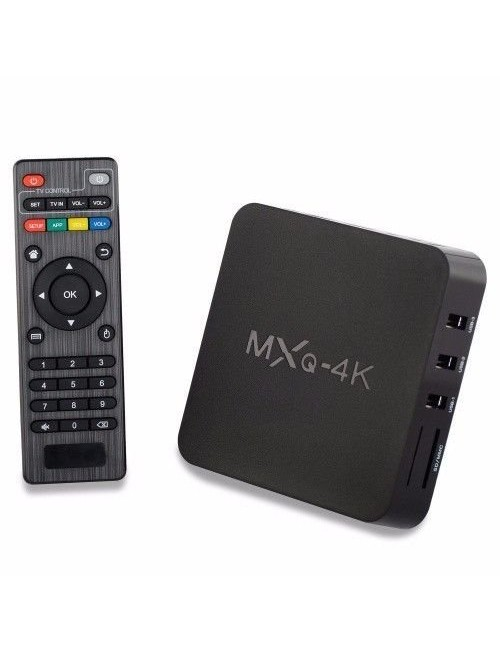 MXQ 4K ANDROID TV BOX
