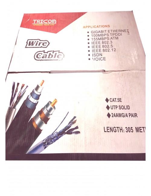 TRICOM LAN CABLE CAT5E 305M