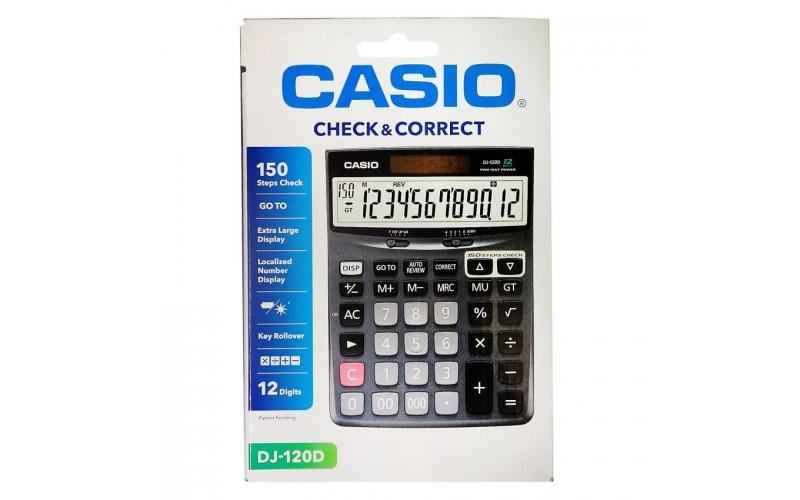 CASIO CALCULATOR DJ 120D