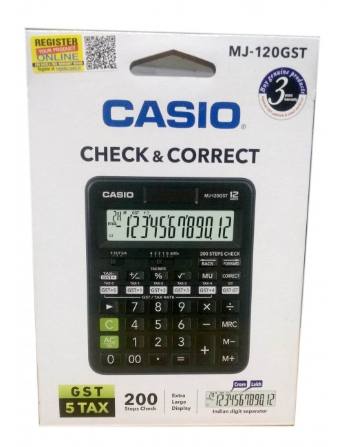 CASIO CALCULATOR MJ 120GST