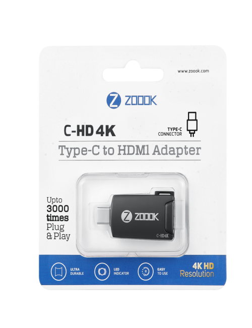 ZOOOK C TYPE TO HDMI (C-HD 4K)