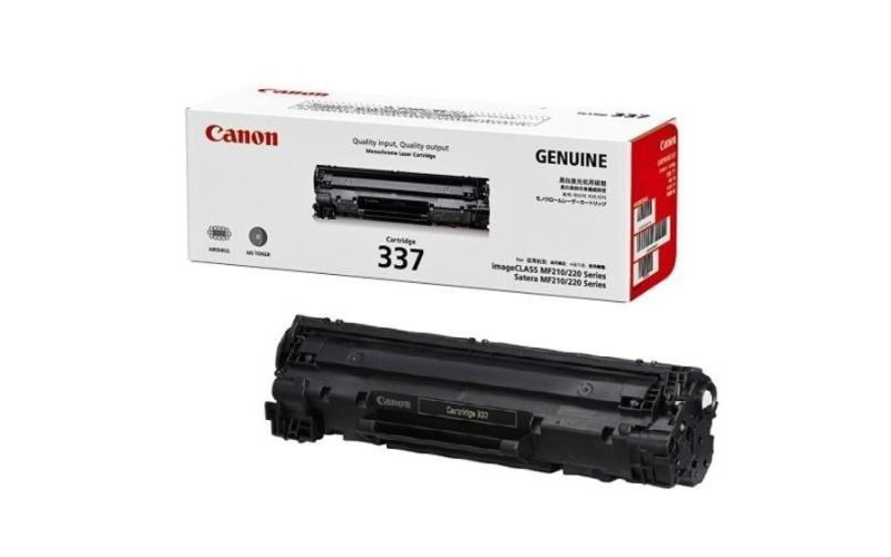 CANON TONER CARTRIDGE LASER JET 337 BLACK (ORIGINAL)