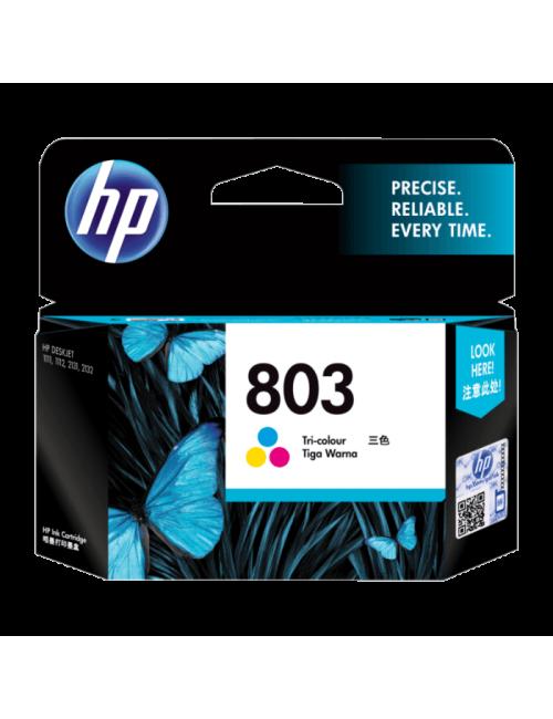 HP INK CARTRIDGE 803 TRI-COLOR (ORIGINAL)