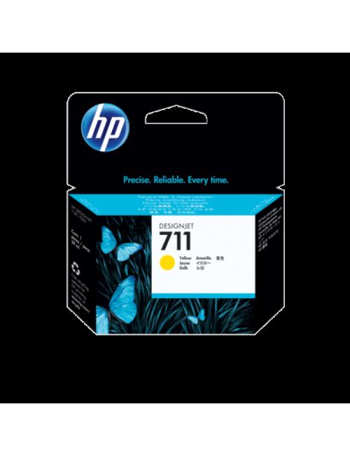 HP UK INK CARTRIDGE 711 29ML YELLOW (ORIGINAL)