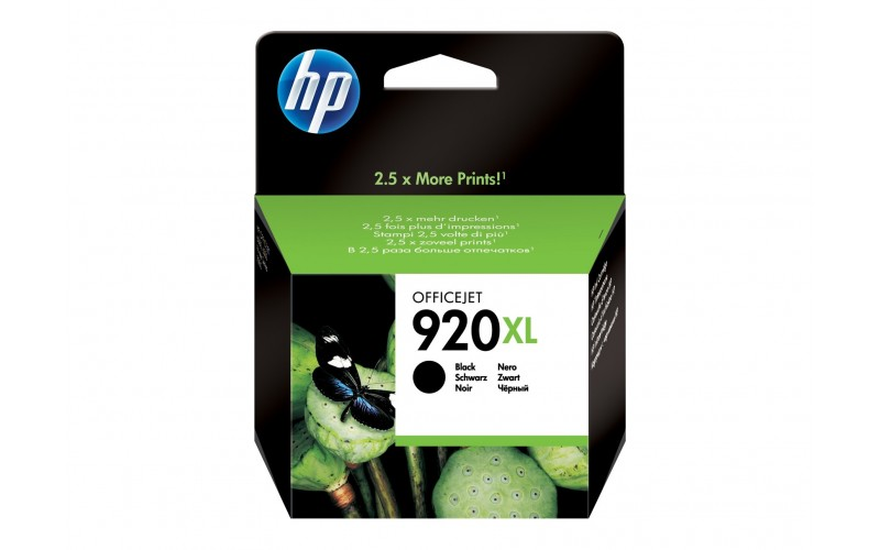 HP INK CARTRIDGE 920XL BLACK (ORIGINAL)