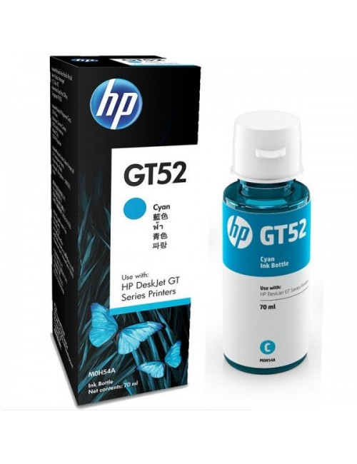 HP INK BOTTLE GT52 CYAN (ORIGINAL)