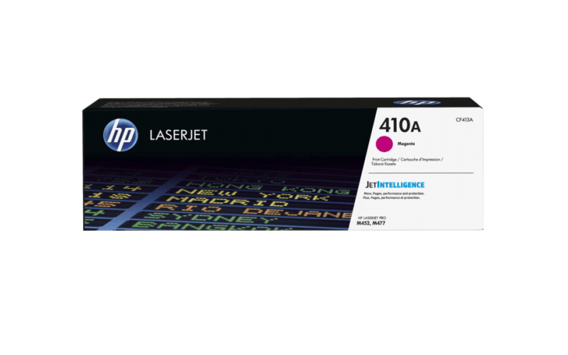 HP TONER CARTRIDGE LASER JET 410A MAGENTA (ORIGINAL)