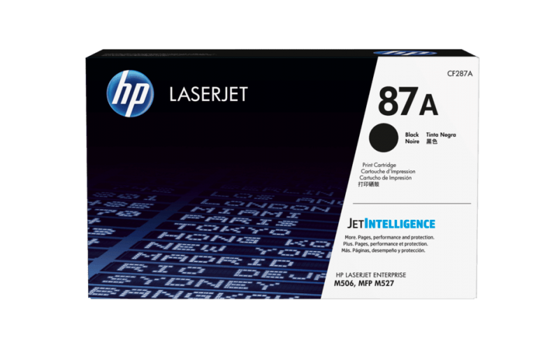 HP TONER CARTRIDGE LASER JET 87A BLACK (ORIGINAL)