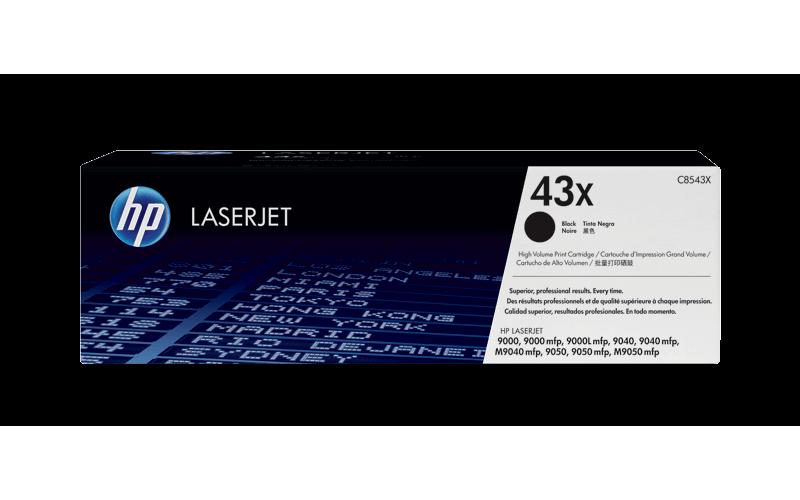 HP TONER CARTRIDGE LASER JET 43X BLACK (ORIGINAL)