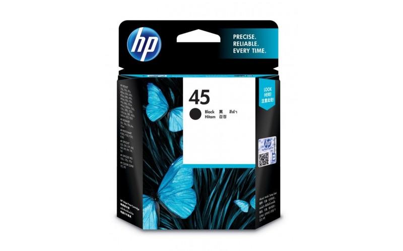 HP INK CARTRIDGE 45 BLACK (ORIGINAL)