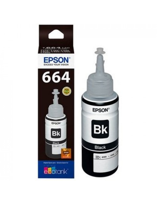 EPSON INKJET INK (BLACK) 664
