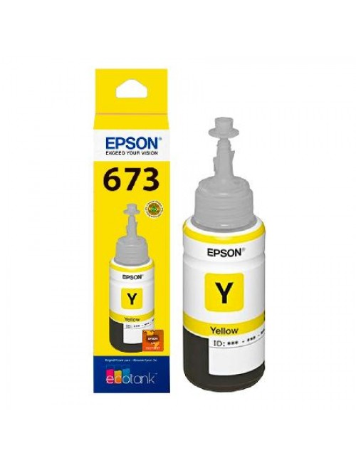 EPSON INKJET INK 673 (YELLOW)