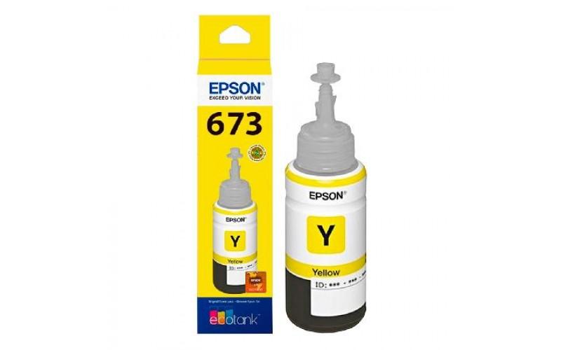 EPSON INKJET INK 673 (YELLOW)