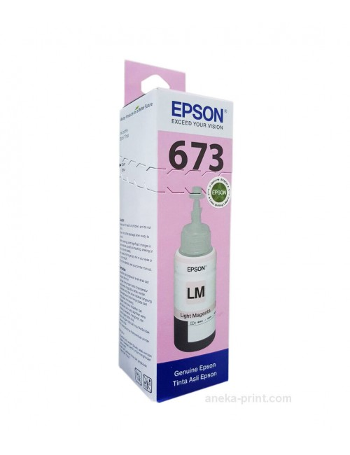 EPSON INKJET INK 673 (LIGHT MAGENTA)