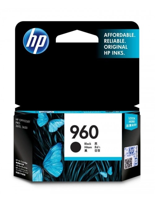 HP INK CARTRIDGE 960 BLACK (ORIGINAL)