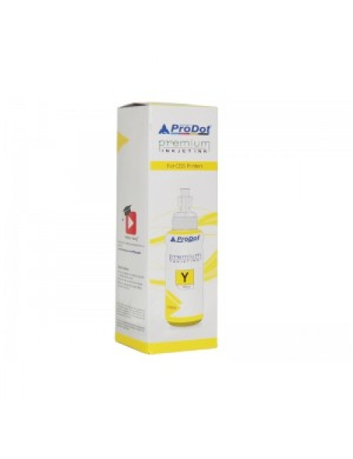 PRODOT INKJET INK FOR BROTHER YELLOW (RI-CISS-B12-DY)