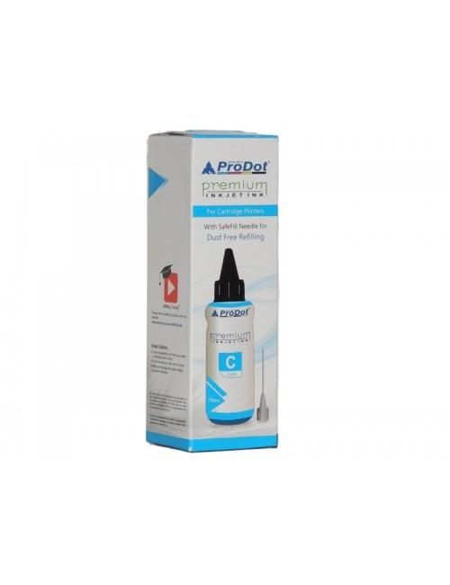 PRODOT INKJET INK FOR HP CYAN (RI-CART-H05-DC) / HP CART 22 / 46 / 57 / 678 / 680 / 703 / 704 / 802 / 803 / 818