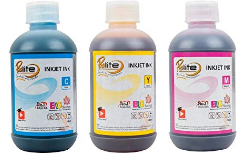 PROLITE INKJET INK FOR HP MAGENTA, CYAN AND YELLOW SET (IP-HQ05-D3C)
