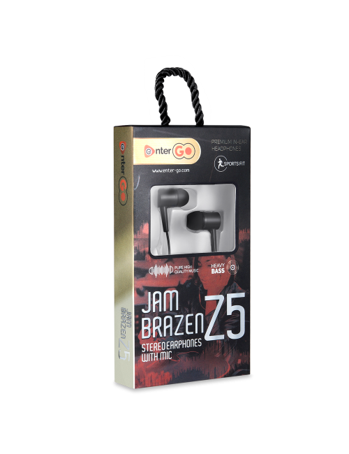 ENTER EARPHONE JAM BRAZEN-Z5
