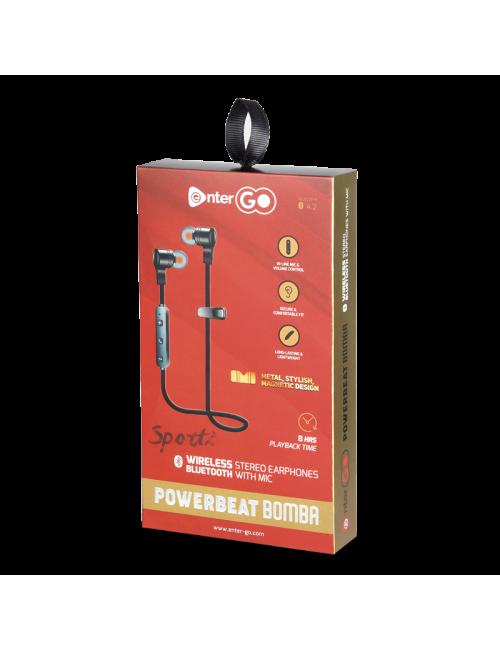 ENTER BLUETOOTH EARPHONE POWER BEAT-BOMBA