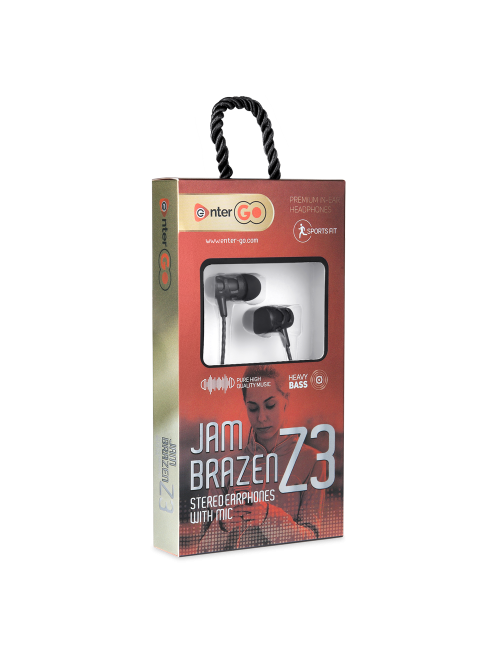 ENTER WIRED EARPHONE JAM BRAZEN Z3
