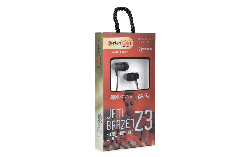 ENTER WIRED EARPHONE JAM BRAZEN Z3