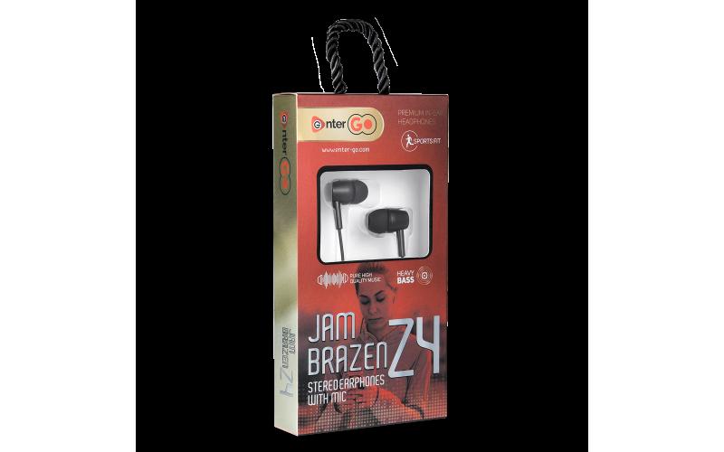 ENTER WIRED EARPHONE JAM BRAZEN Z4