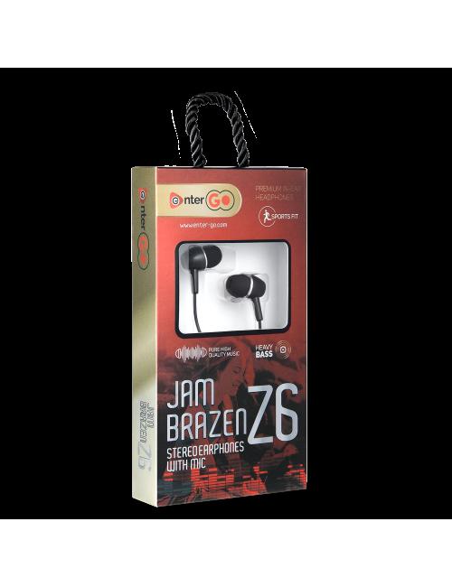 ENTER WIRED EARPHONE JAM BRAZEN Z6