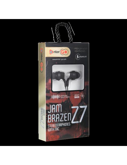 ENTER WIRED EARPHONE JAM BRAZEN Z7