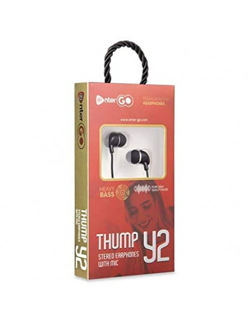 ENTER WIRED EARPHONE THUMP Y2