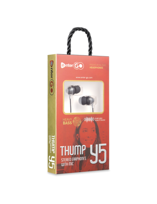 ENTER WIRED EARPHONE THUMP Y5