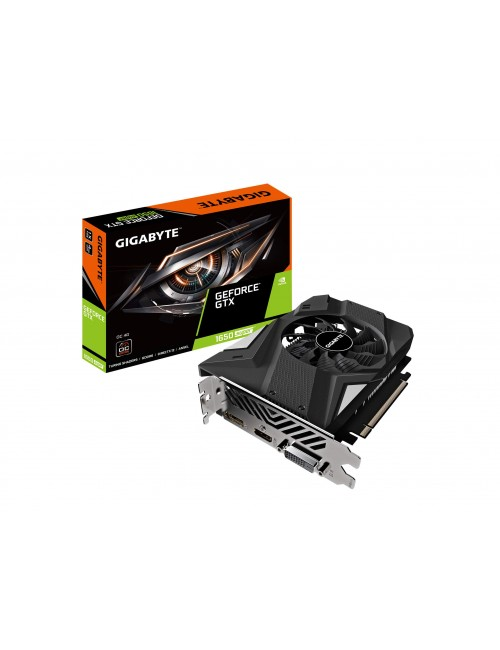GIGABYTE GTX 1650 4GB GDDR5 SUPER OC (SINGLE FAN)